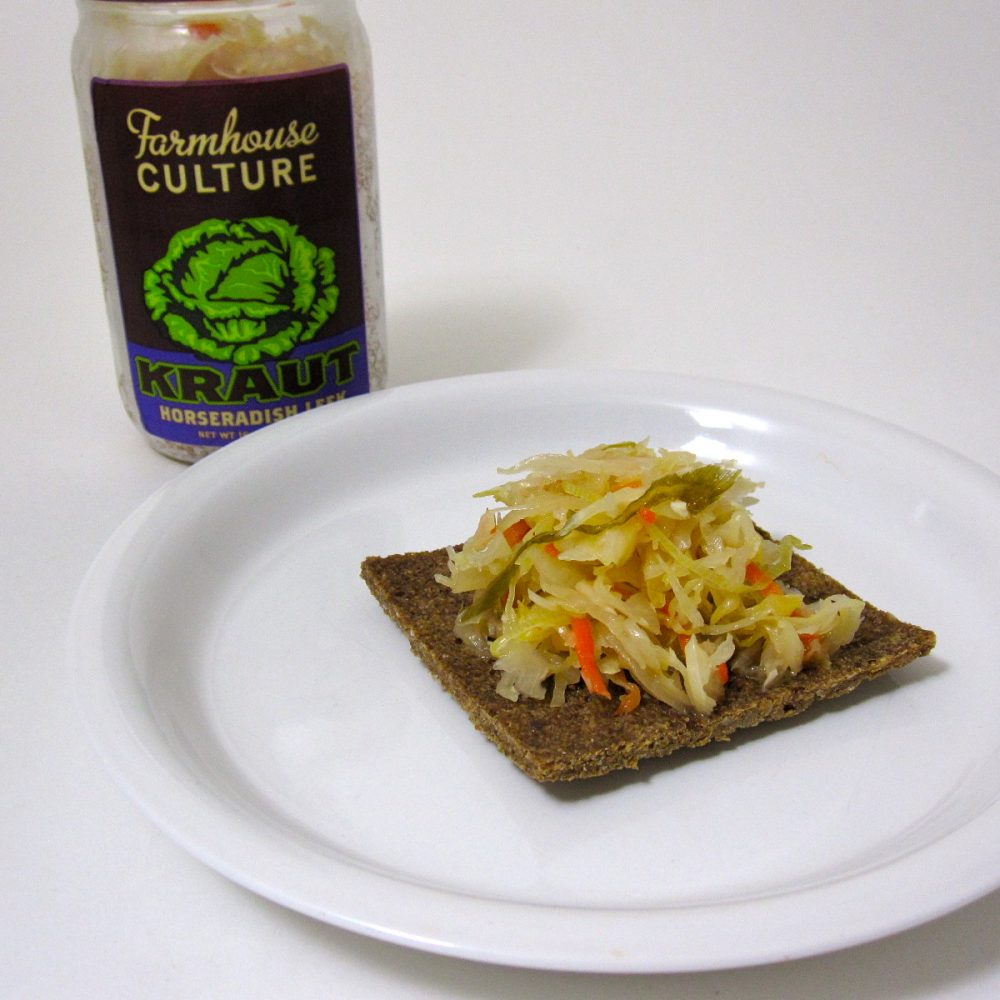Recipe & Review Lightly ion Bread & Farmhouse Culture Sauerkraut
