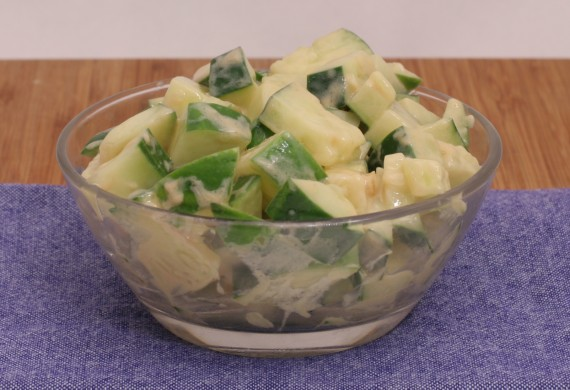 Cucumber Mustard Salad