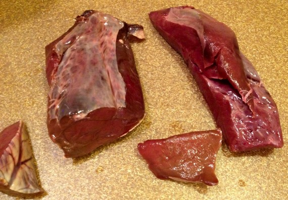 Grass Fed Bison Heart