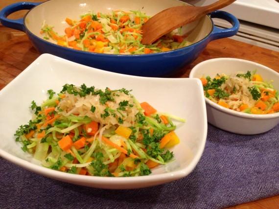 Veggie Dinner (Gluten Free Paleo Vegetarian)