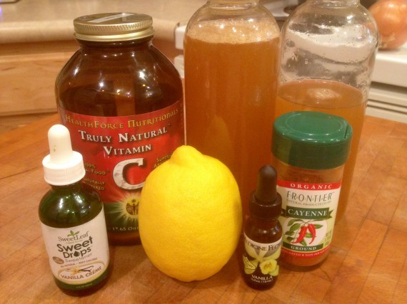 Spicy Metabolic Vanilla C Tonic - with lemon