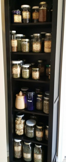 Herb Shelf #FirstAid