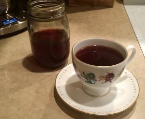 Beautiful Berry Nourishing Heart Tea #HerbalMedicine