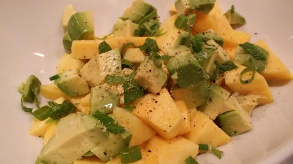 Minted Mango Salad