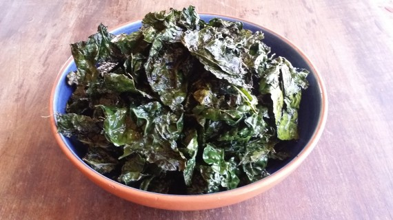 Roasted Kale with Ghee