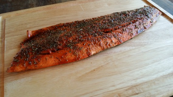 Whole Wild-Caught Rosemary Lime Spicy n Sweet Sockeye Salmon
