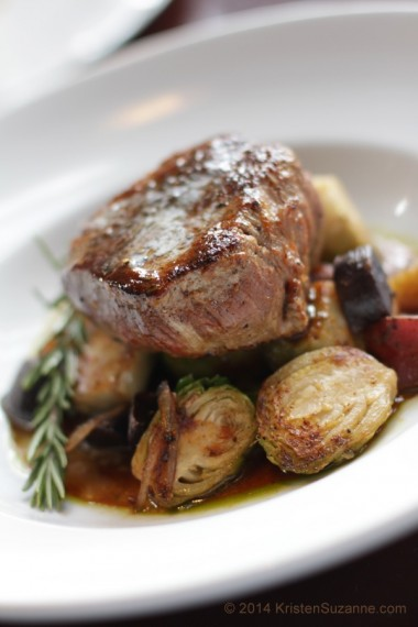 Cast Iron Seared Grass-Fed Filet Mignon Steak Au Poivre #CoyoteCafe Santa Fe NM