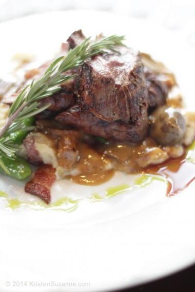 """Chef's"" Famous Tellicherry Pepper Elk Tenderloin (grass-fed) Coyote Cafe"