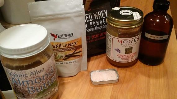 HAMWhey ingredients. Good stuff.