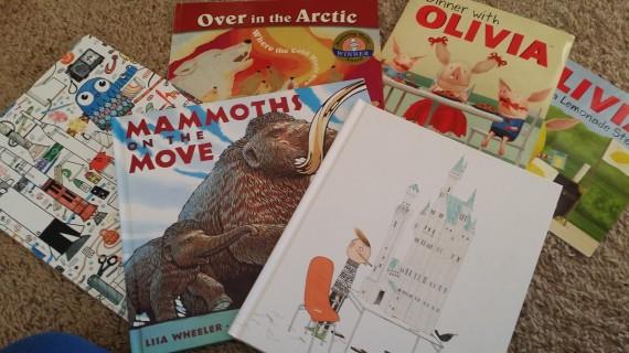 We read LOTS of books. LOTS. LOTS. LOTS.