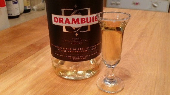 Drambuie - my favorite alcohol. Warmth. Gently Sweet. Mmmmmm.