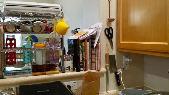 More hooks for mini ladle, scissors, hone, cleaver, etc.