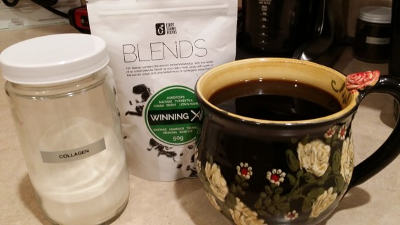 At this point, you know I like coffee. This particular blend is one of my faves! Winning X.