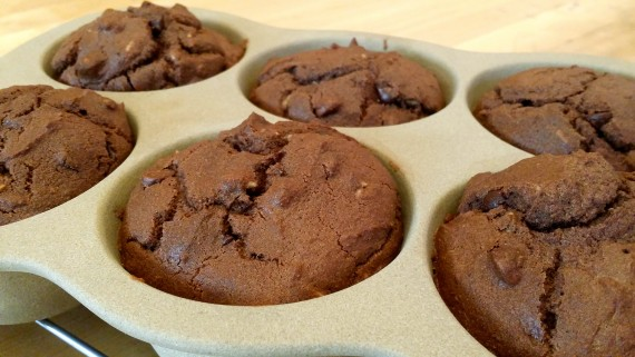 Damn good chocolate gluten-free muffins.