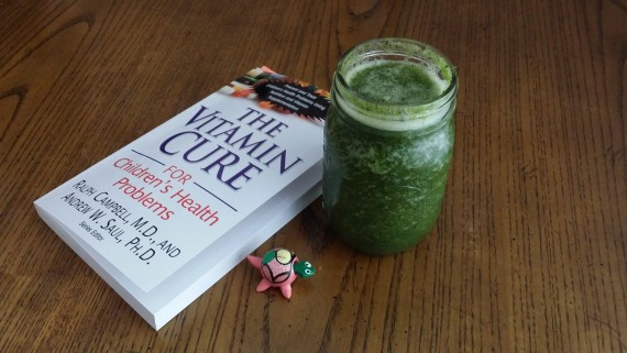 Green Smoothie and a Book. Nutrition. Yay.