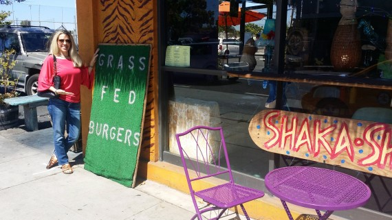 Delicious grass-fed burgers near the beach. #LifeisGood