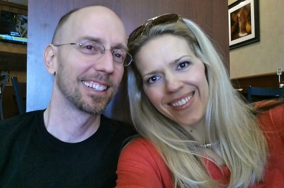 At the airport beginning our day trip to Santa Monica with the love of my life.