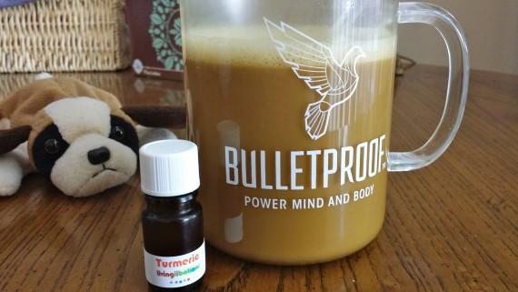 Bulletproof Coffee with Turmeric Essential Oil