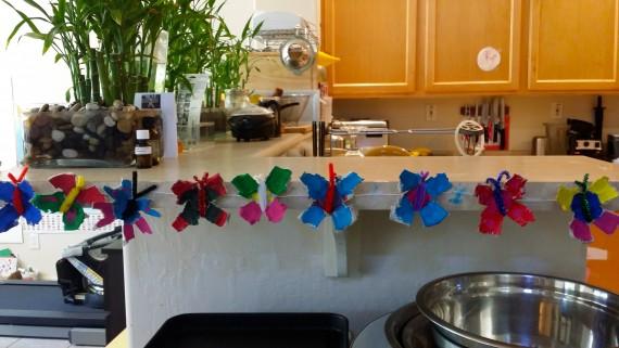 TaDa! Butterfly Garland