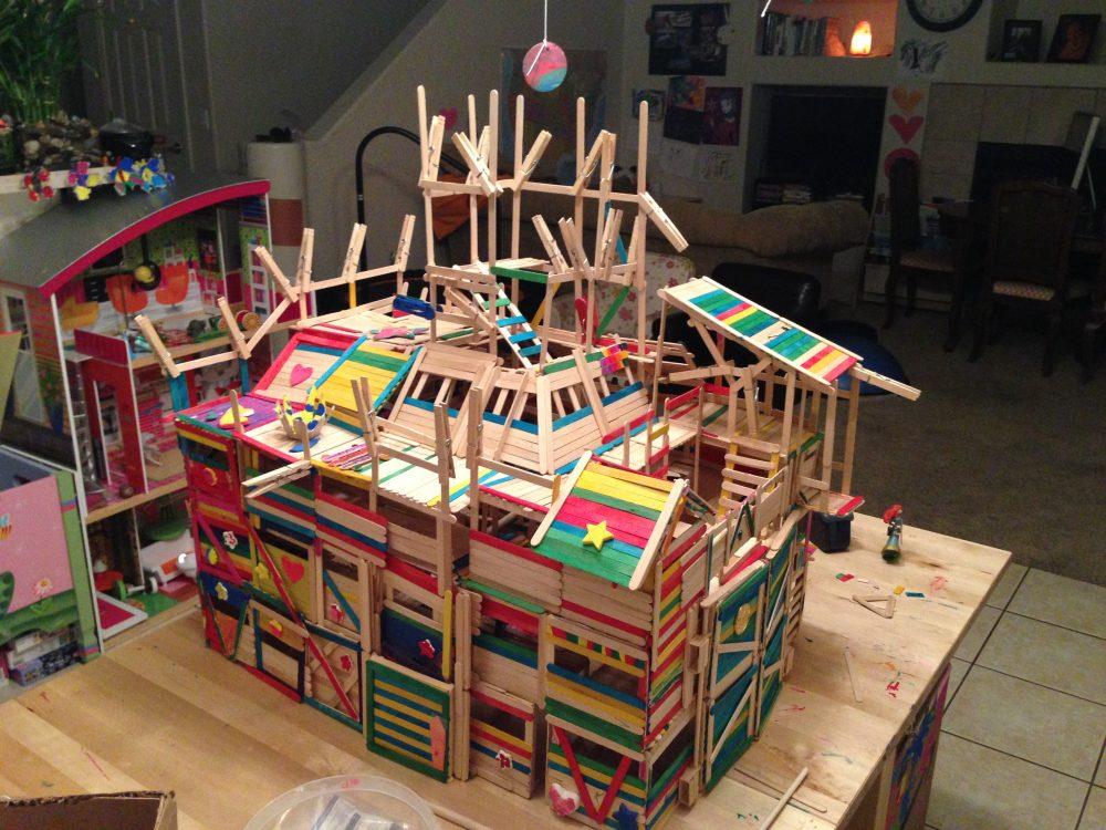 House design using popsicle sticks - Img_0164