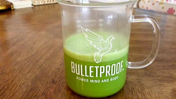 Bulletproof-style Matcha - afternoon energy