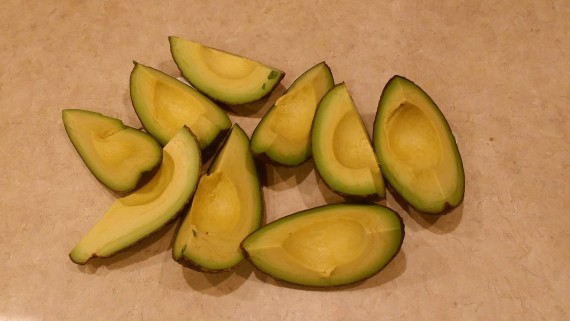 Best way to peel an avocado.