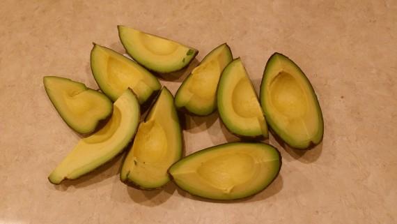 Best way to peel an avocado.