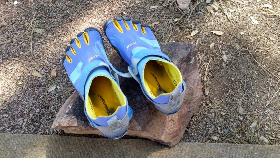 Vibrams make me a runner. #ThatsMyStory