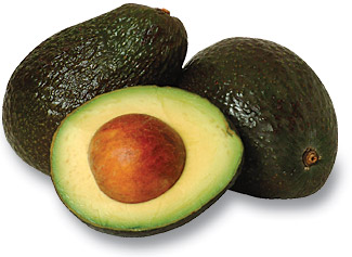Avocado - a delicious health food.