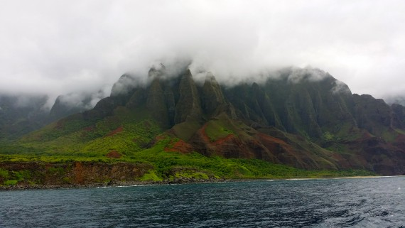 Na Pali Coast Kauai. Breathtaking.