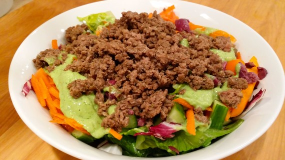 AWESOME! Bulletproof taco salad