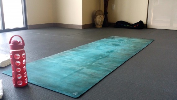 "Stunning"" Yoga Design Lab"" hot yoga mat."