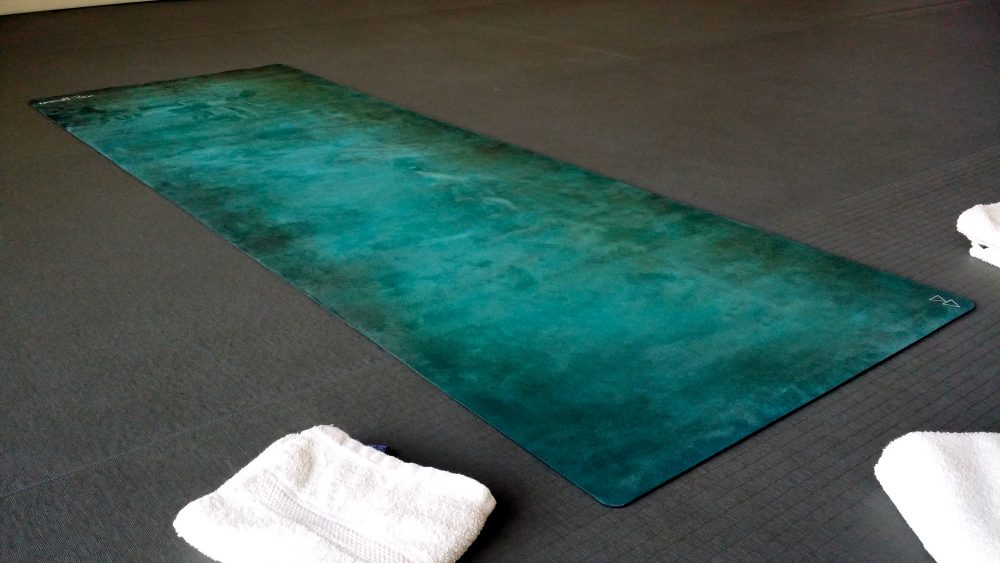 how to clean yoga design lab mat
