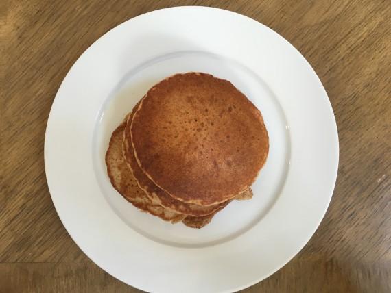 Fresh sourdough pancakes!