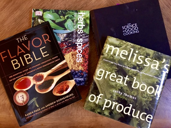 Books to improve cooking skills.
