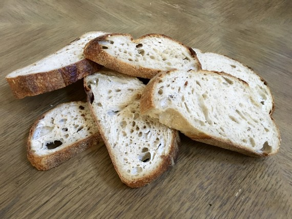 I never thought of bread as healthy, but I do now.