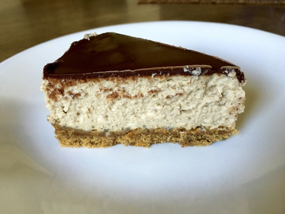 Gluten-free Greek Yogurt Cheesecake