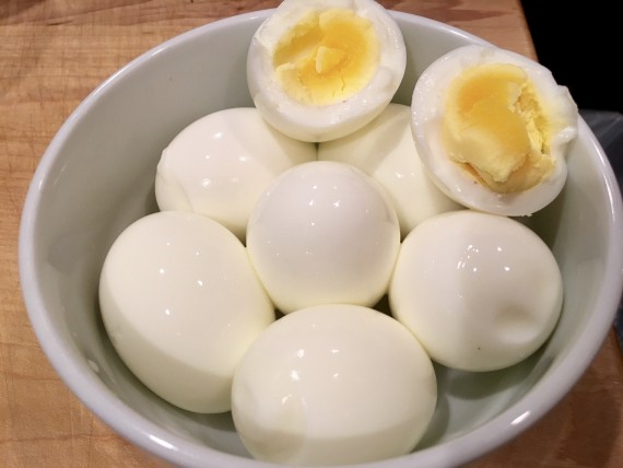 Effortless hard/soft cooked eggs with Instant Pot Smart.