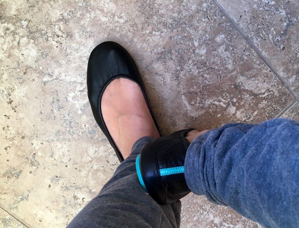 Tieks on my feet