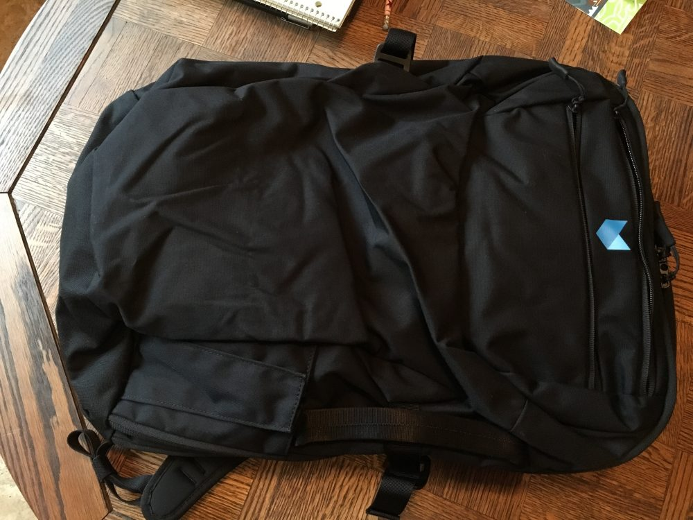 Minaal Backpack for world travel