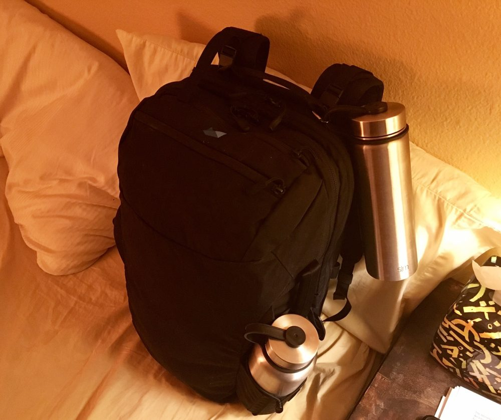 Minaal backpack ready to go