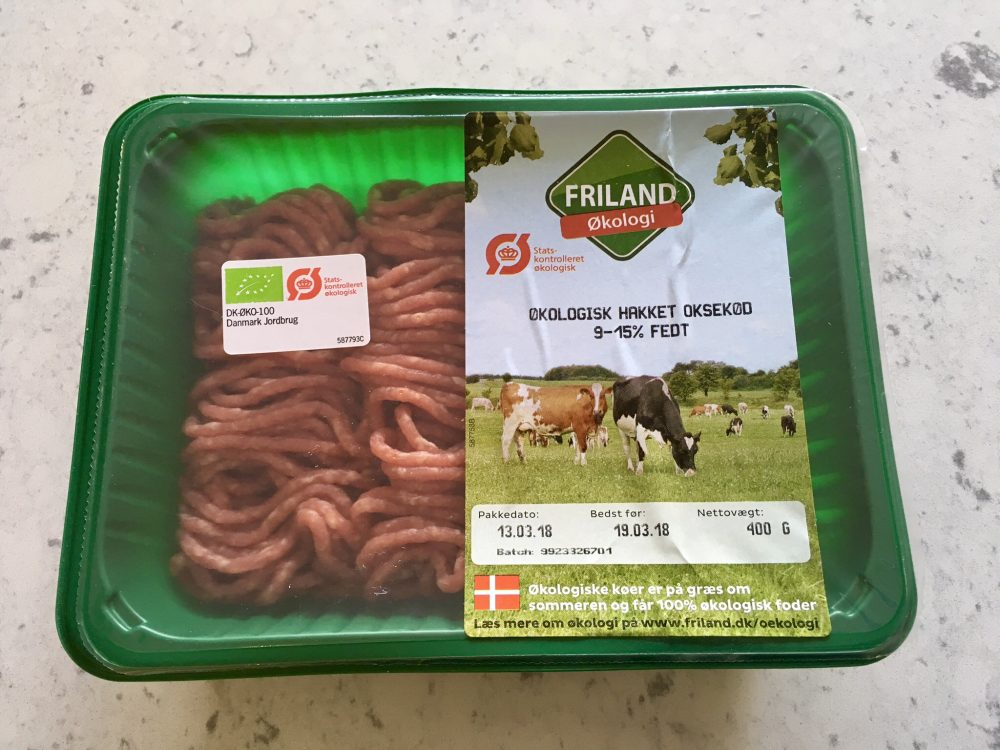 Denmark ground beef