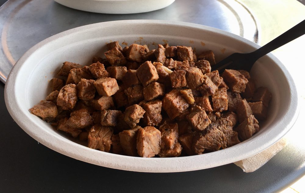 Steak bowl only from Chipotle