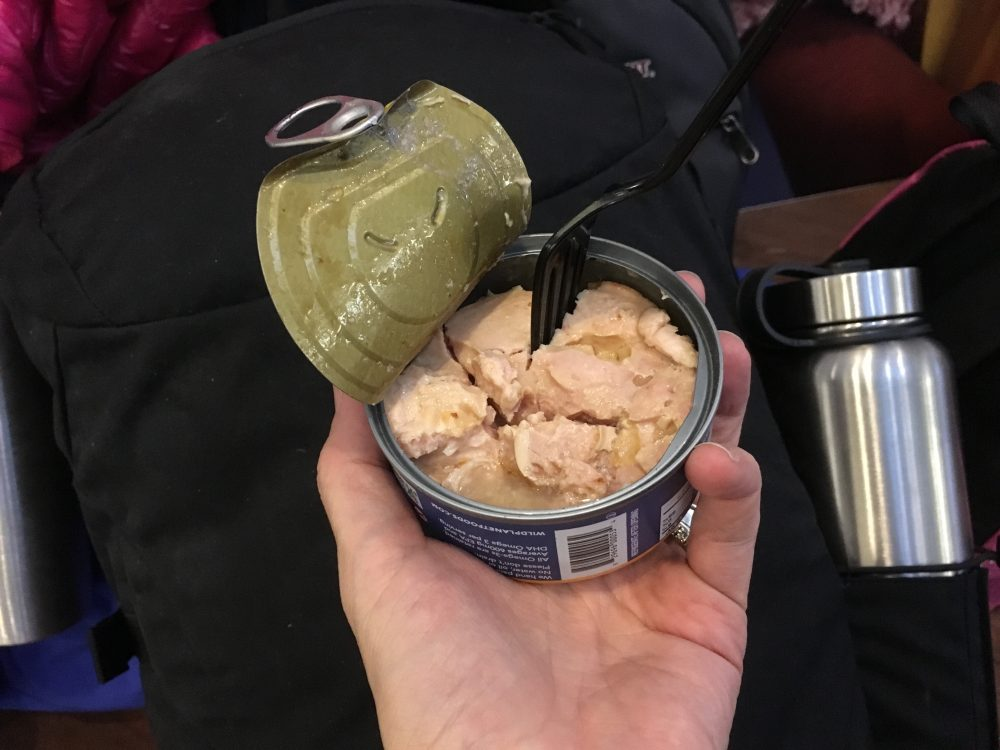 Canned tuna in Denmark airport
