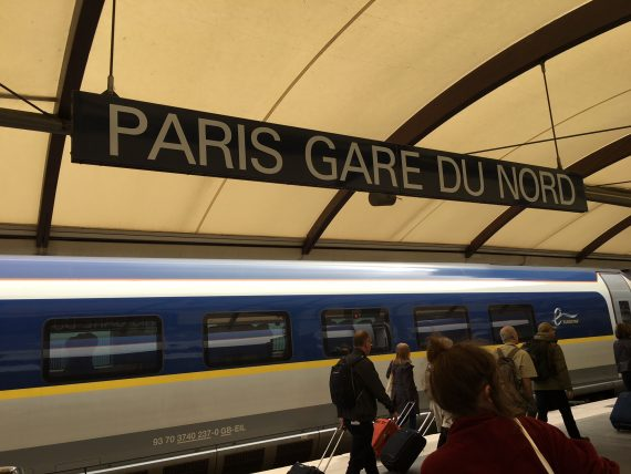 Paris Gare Du Nord Train Station