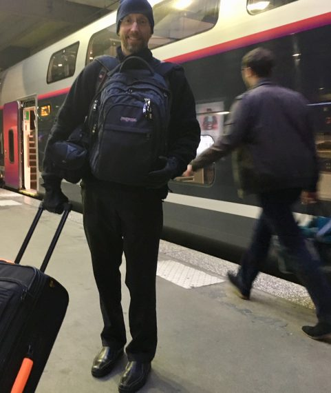 train travel luggage and carry-on