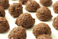 Raw Vegan Chocolate Crunch Hazelnut Macaroons