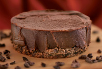 Raw Vegan Chocolate Peppermint Hemp Cheesecake