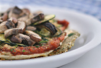 Raw Vegan Amalfi Coast Pizza