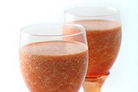 Raw Vegan Sassy Strawberry Aperitif